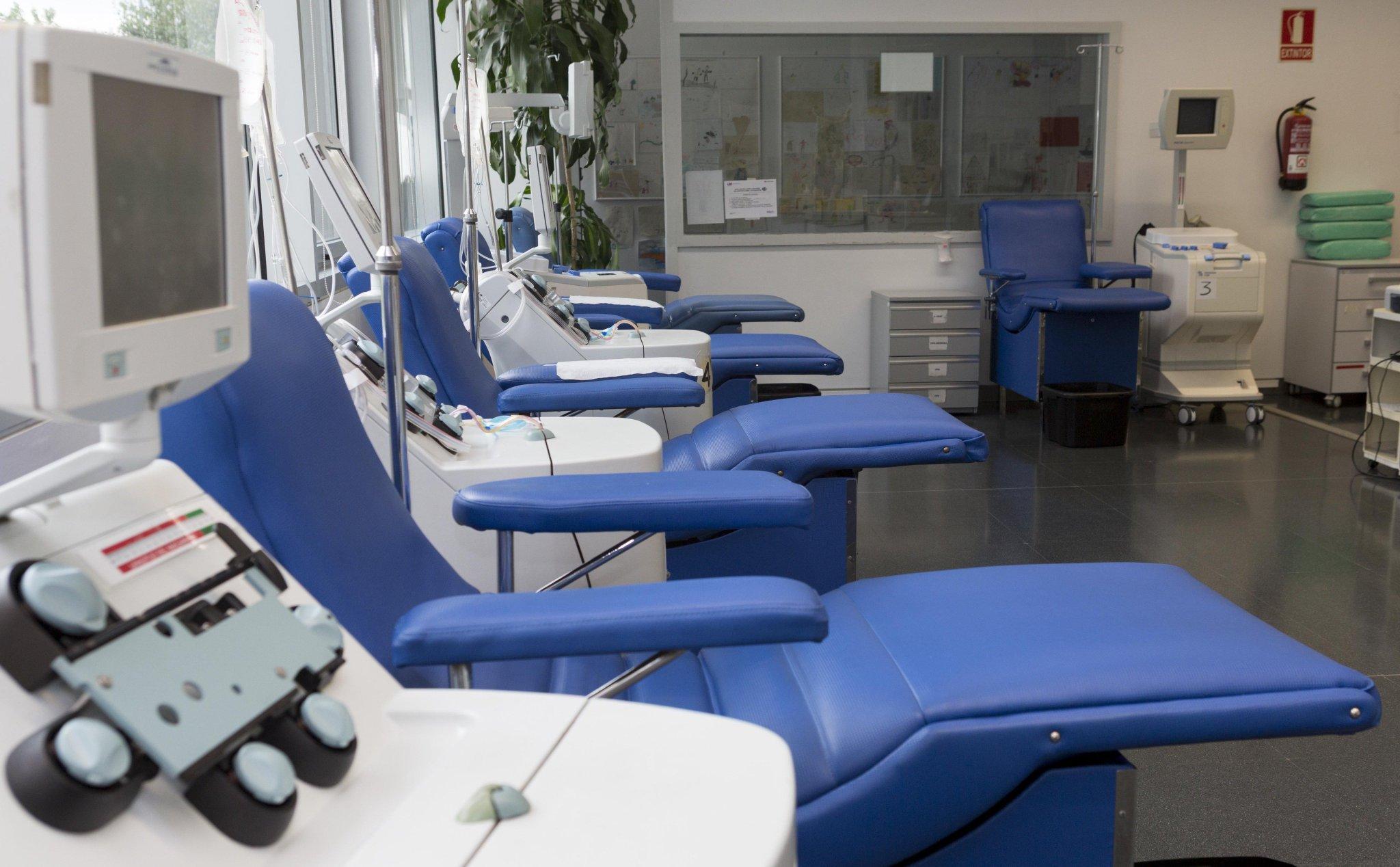 Centro de transfusión de Madrid