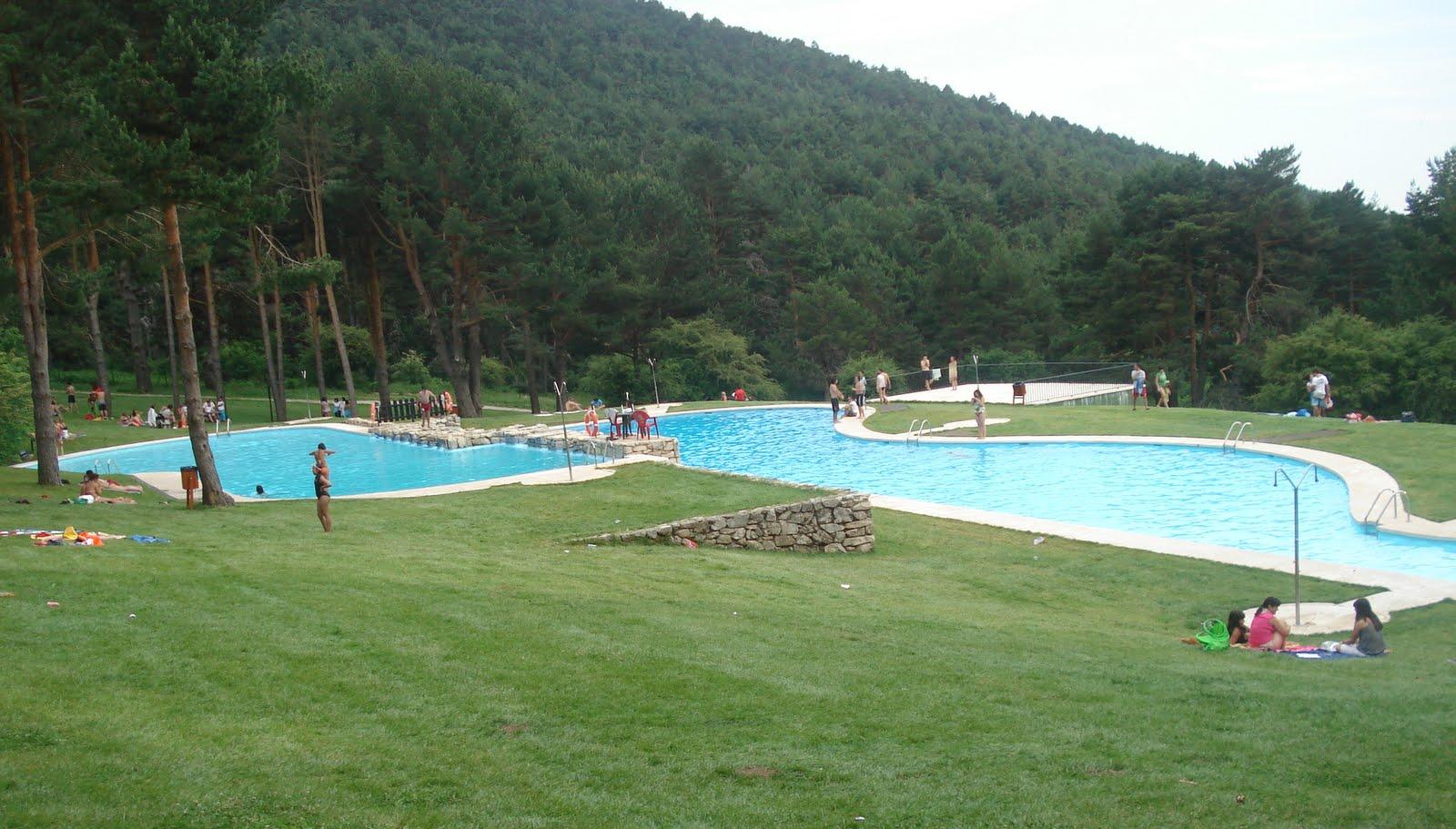 las berceas las piscinas naturales de cercedilla madridfree