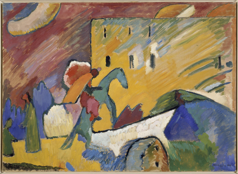 Improvisation III (Improvisación III), 1909. © Vassily Kandinsky, VEGAP, Madrid 2015.
