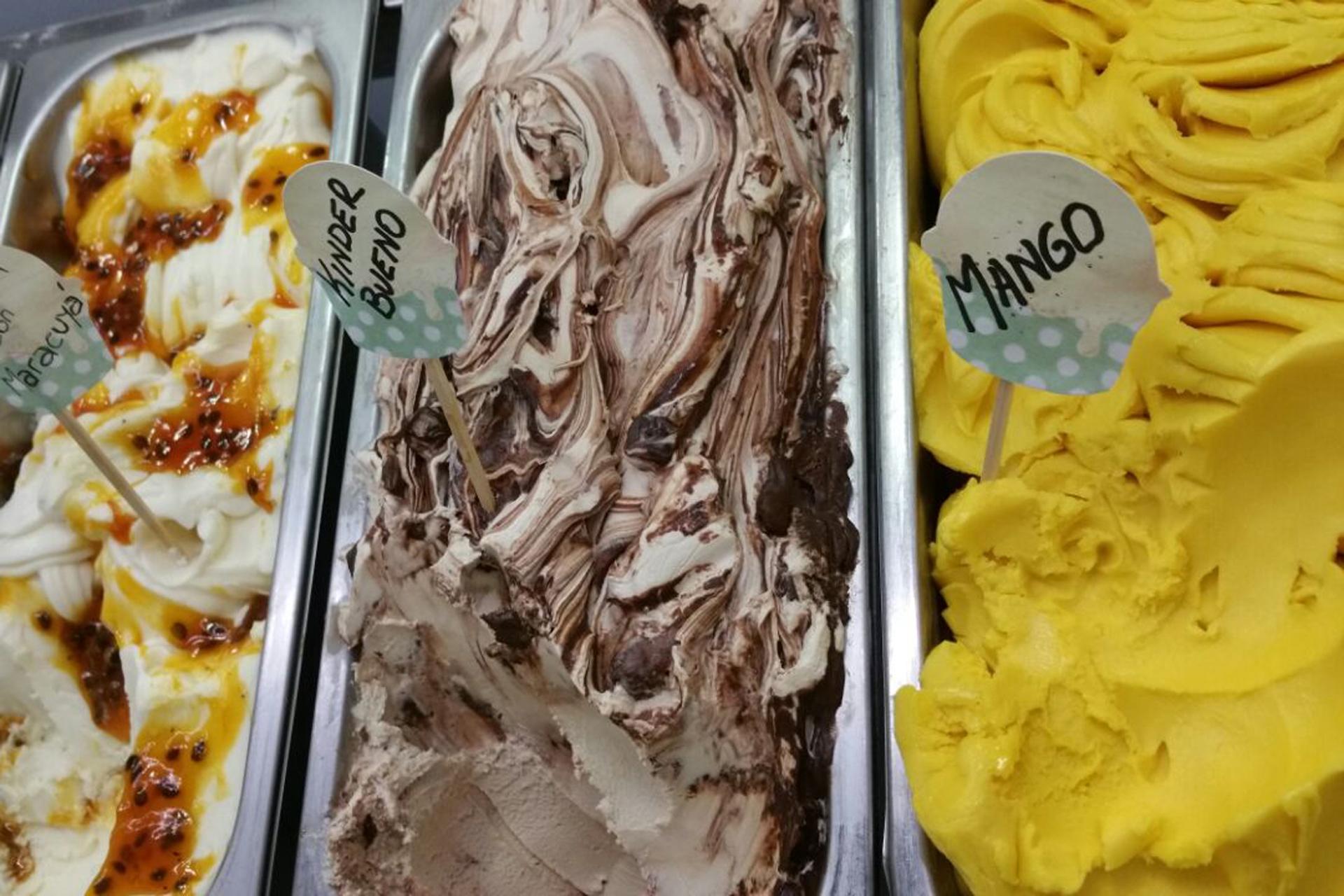 Acquolina, el mejor helado de mango de Madrid