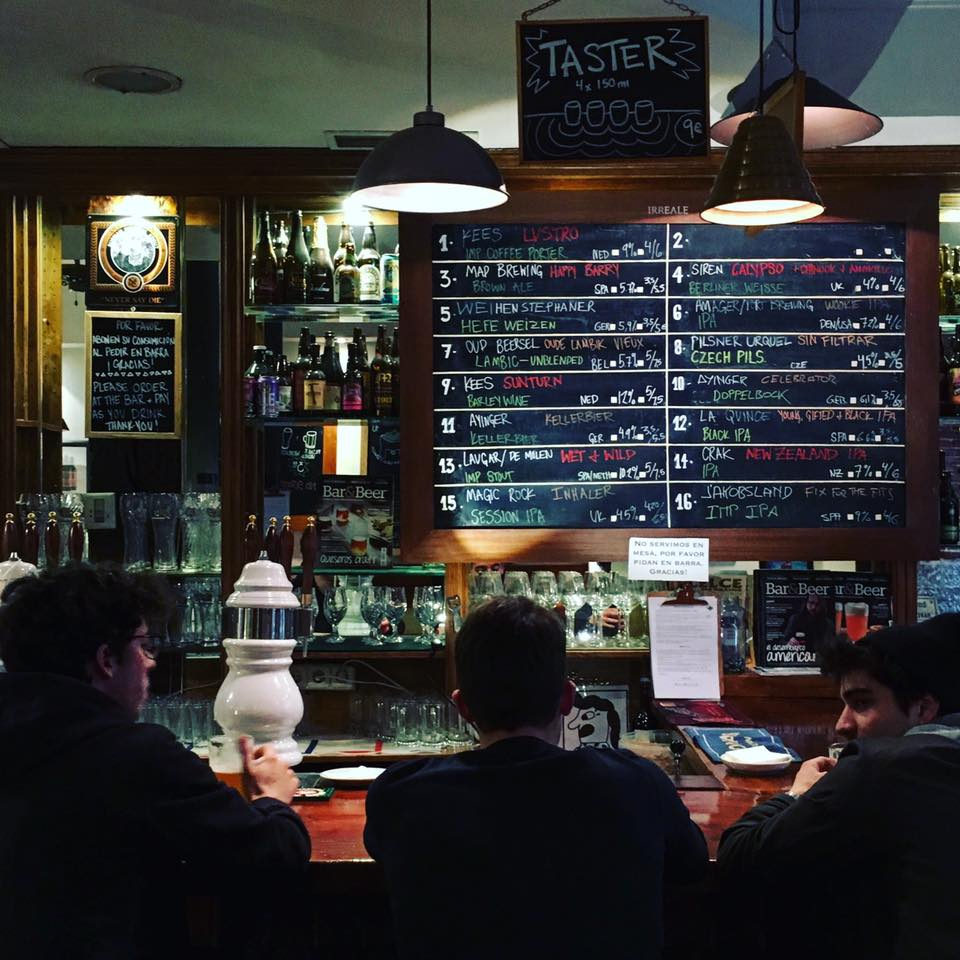 Irreale, el templo de la cerveza artesana