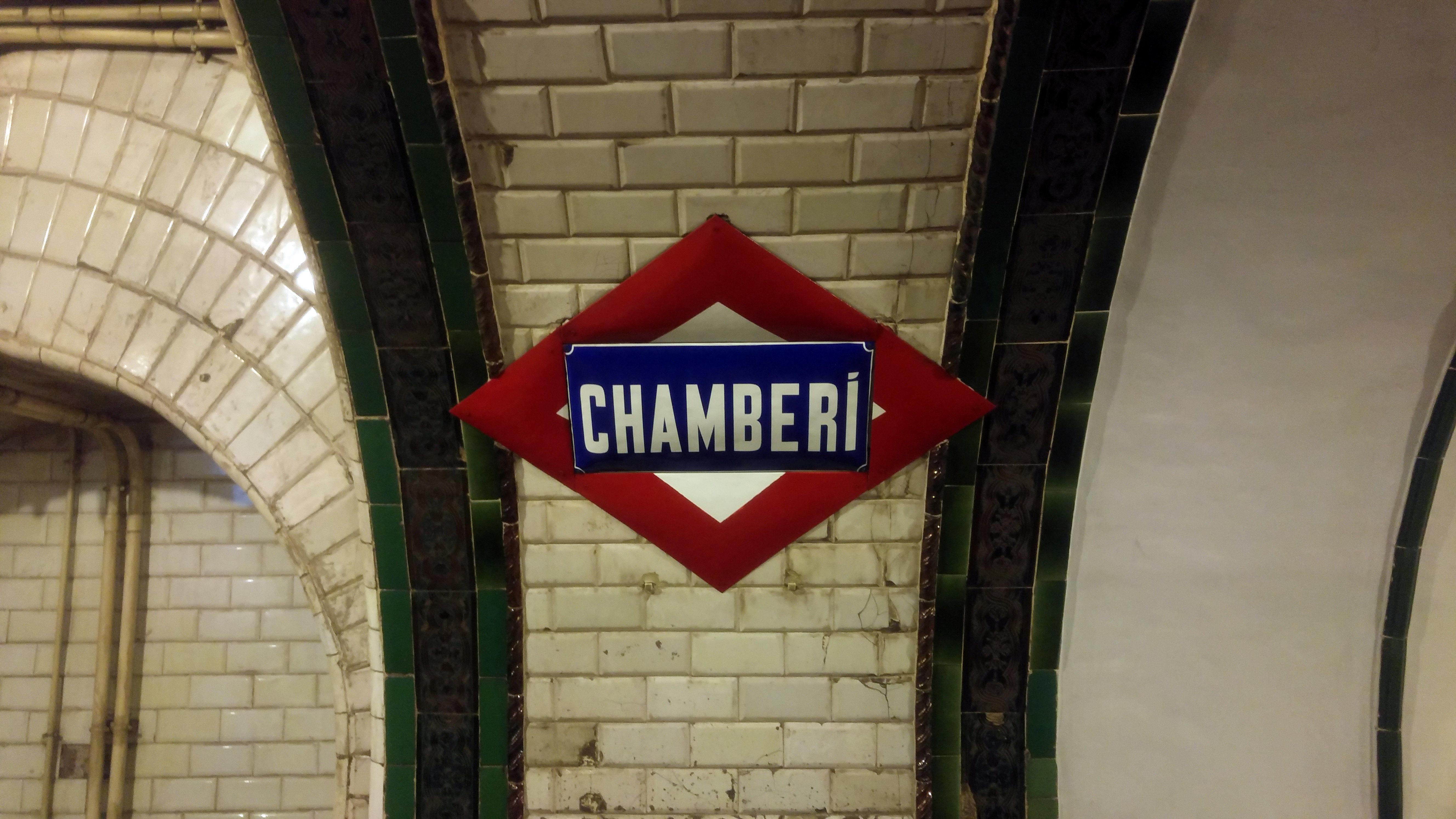 El Andén 0 de la Estación de Chamberí