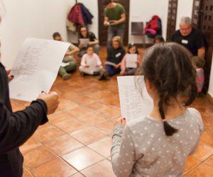 Talleres de 'Versos y espadas' en la Casa Museo Lope de Vega