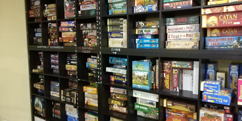 Epic Board Game Café