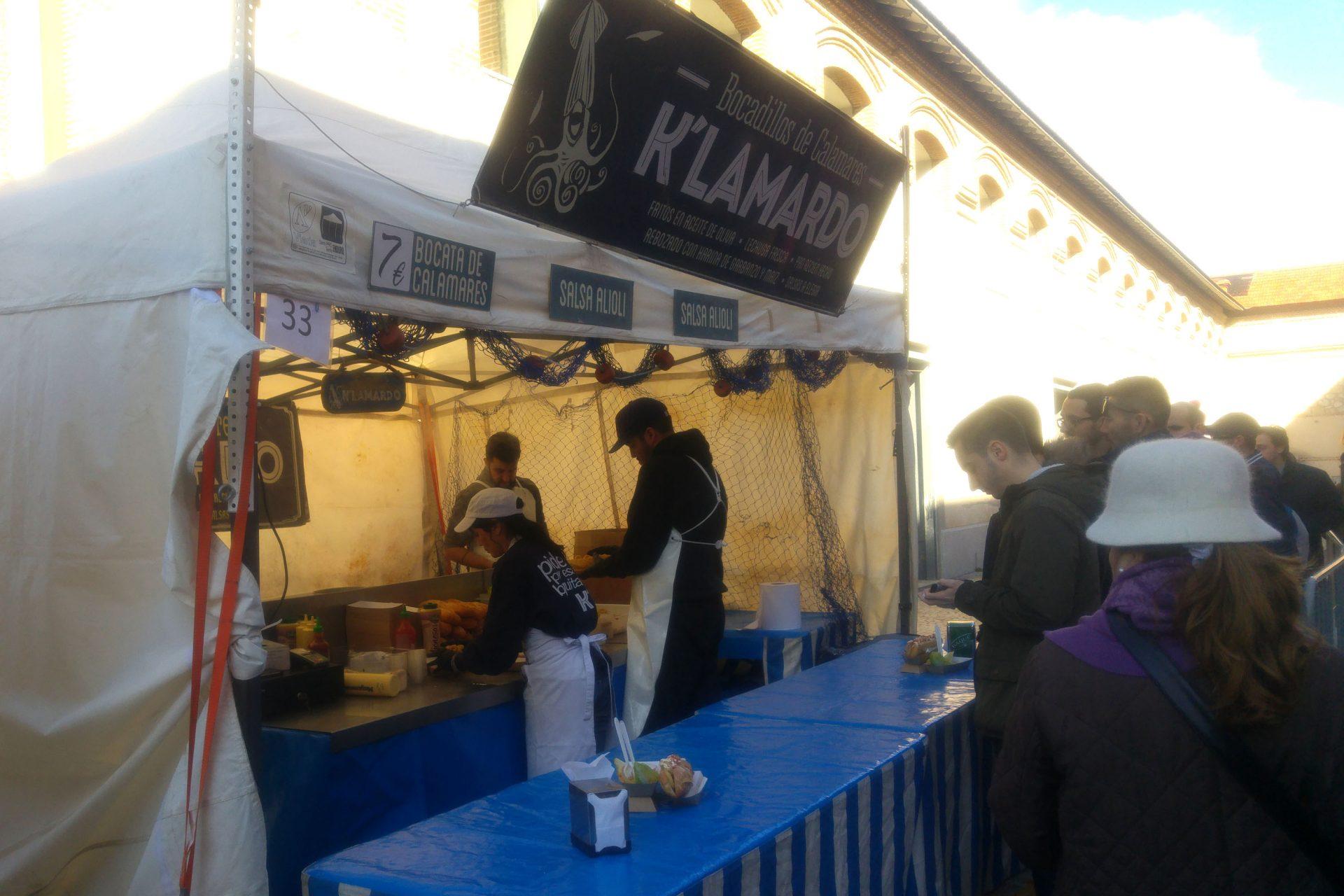El mercado Madrid Productores del Matadero