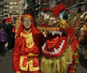 Llega a Madrid el Año Nuevo Chino del Perro de Tierra