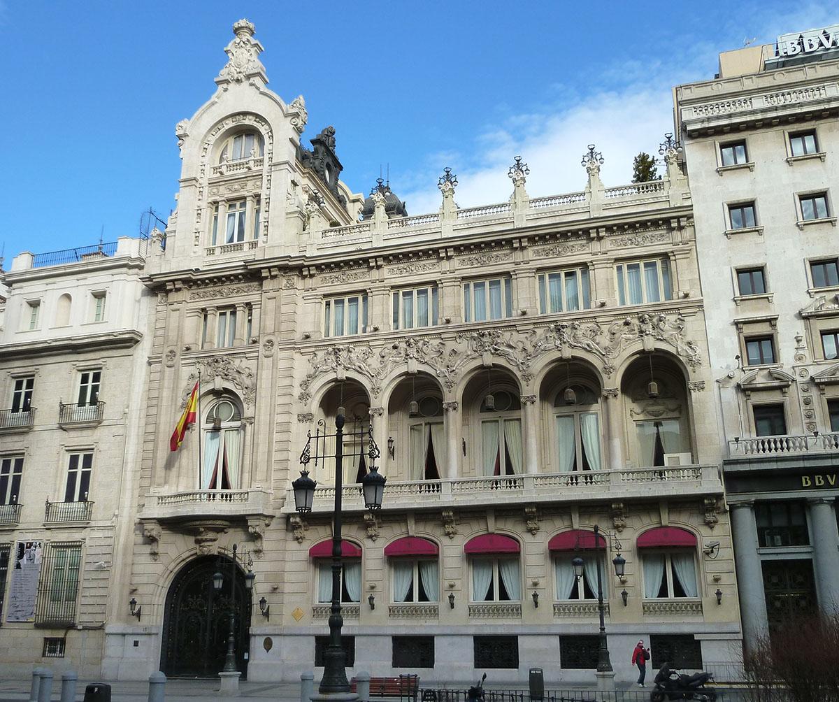 Los manjares de La Terraza del Casino de Madrid