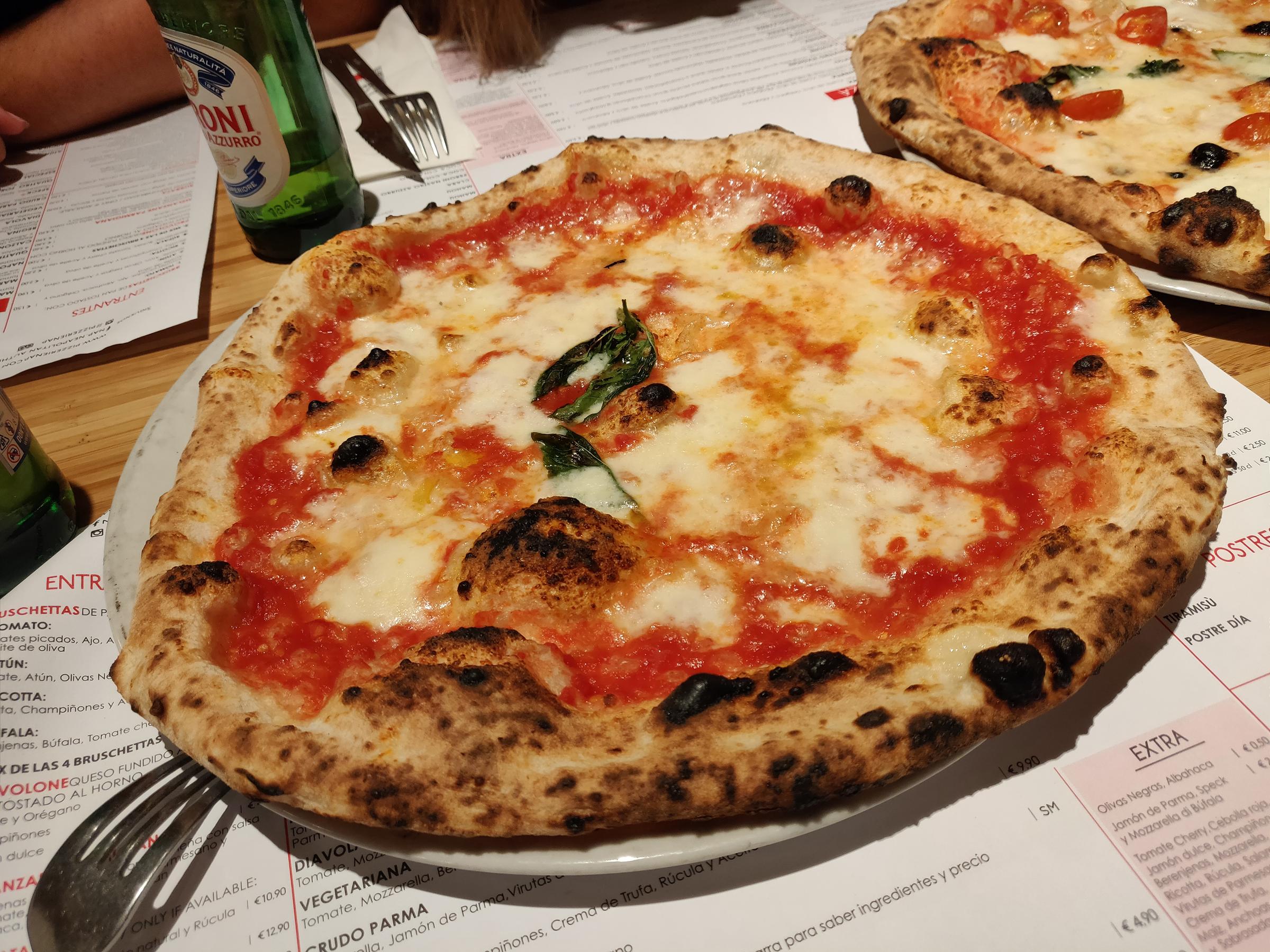 NAP, auténtica pizza napolitana en Madrid