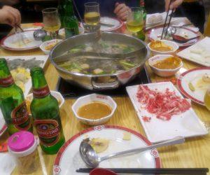 Auténtico Hot Pot en Madrid en el restaurante Yuè Lái