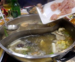 Auténtico Hot Pot en Madrid en el restaurante Yuè Lái