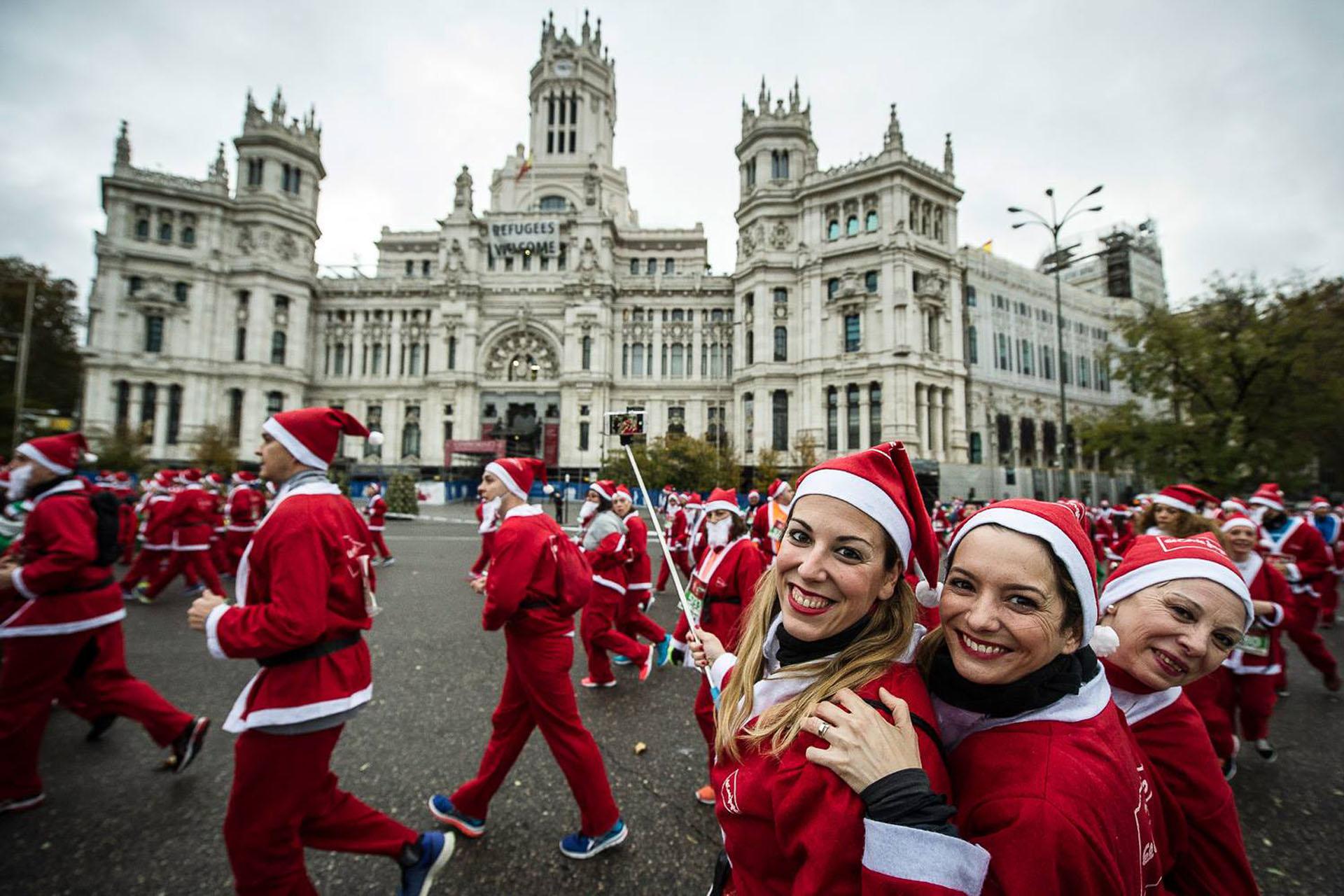 Muchas más san silvestres y carreras navideñas en Madrid