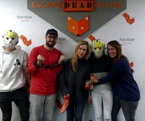 Fox in a Box Escape Room Asesino del zodiaco