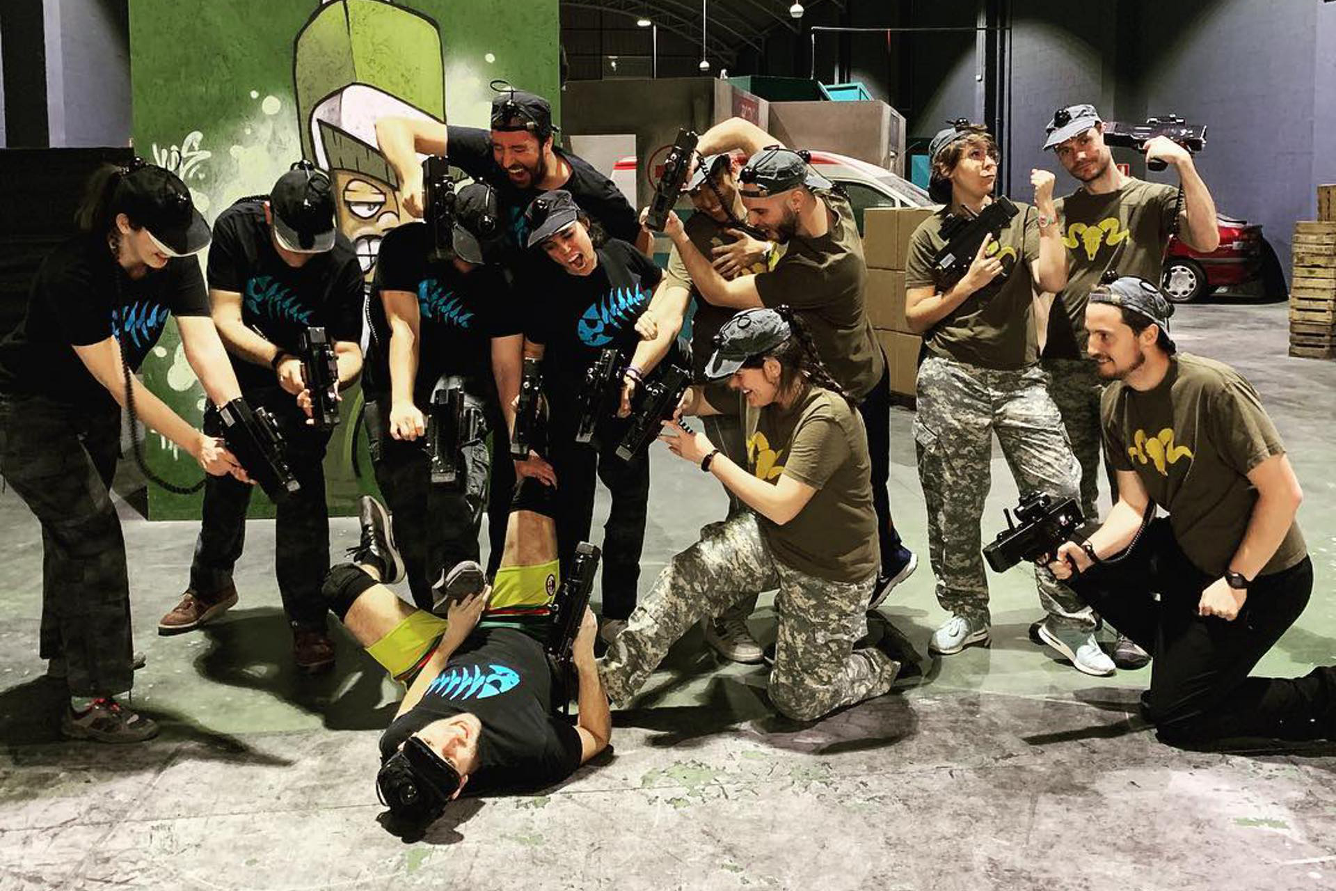 Combat Arena Laser Tag en Madrid