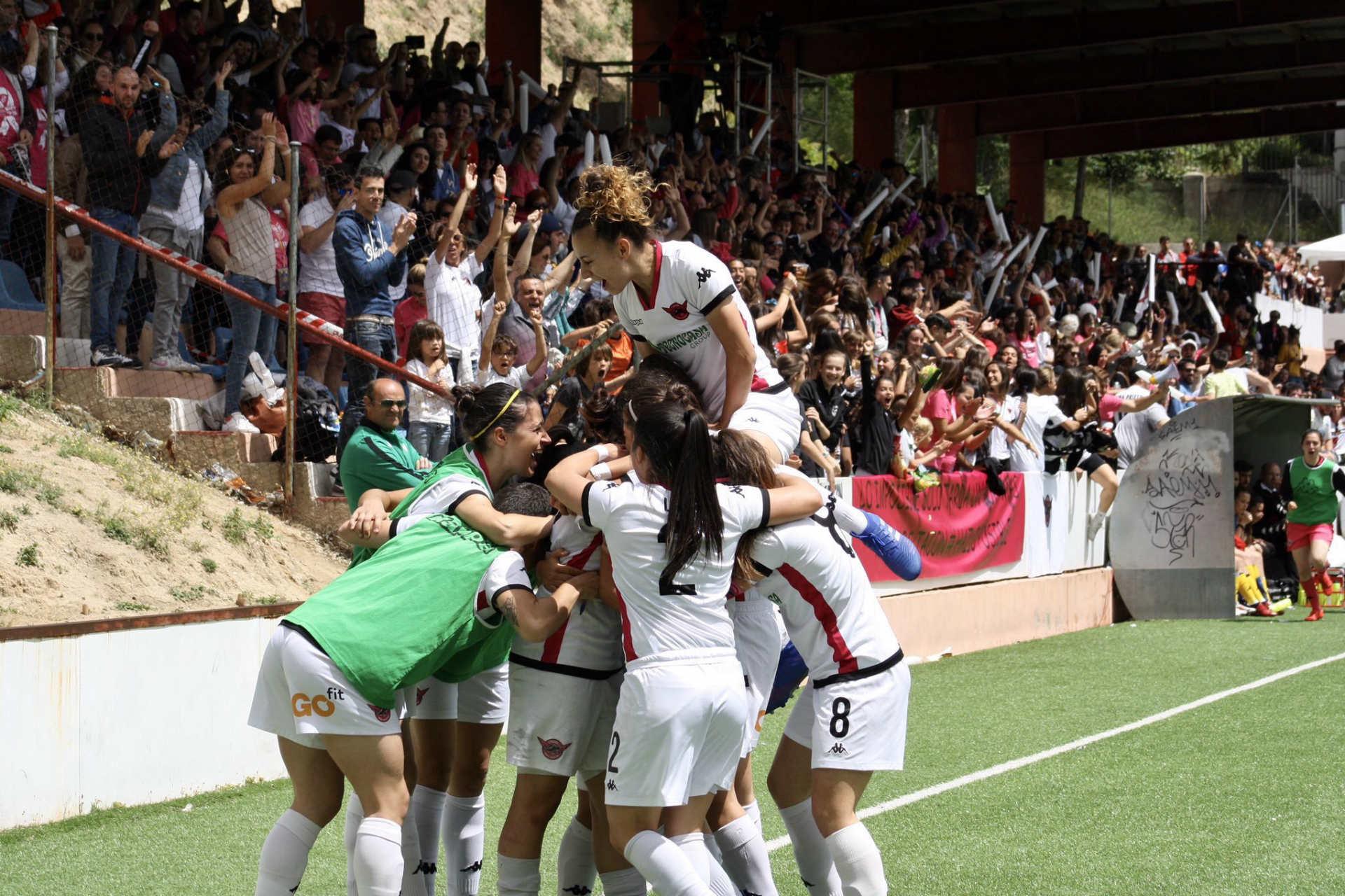 El fútbol femenino en Madrid vive su temporada más grande