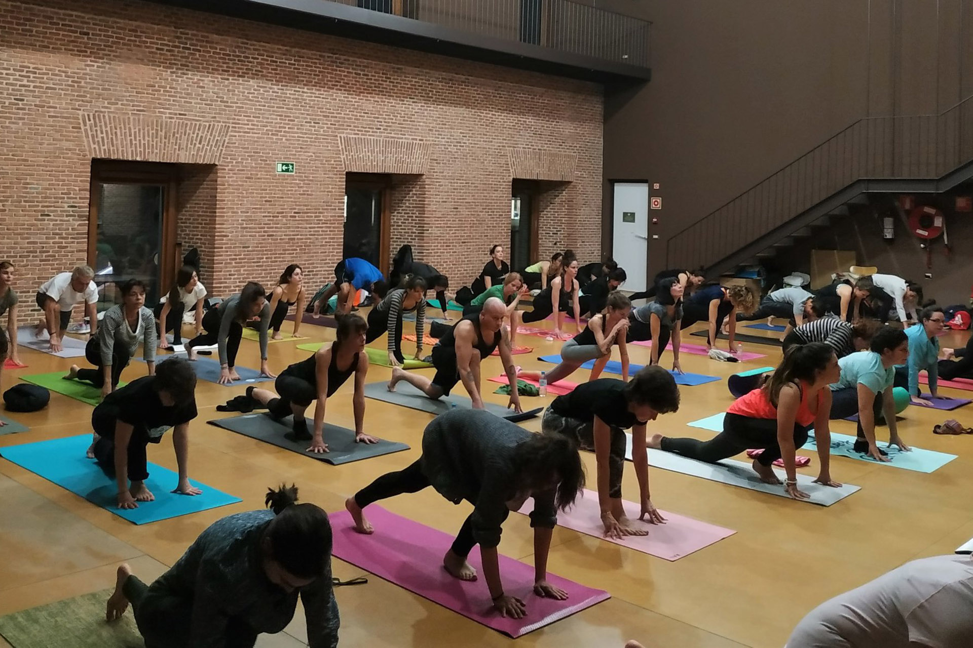 yoga gratis en Madrid