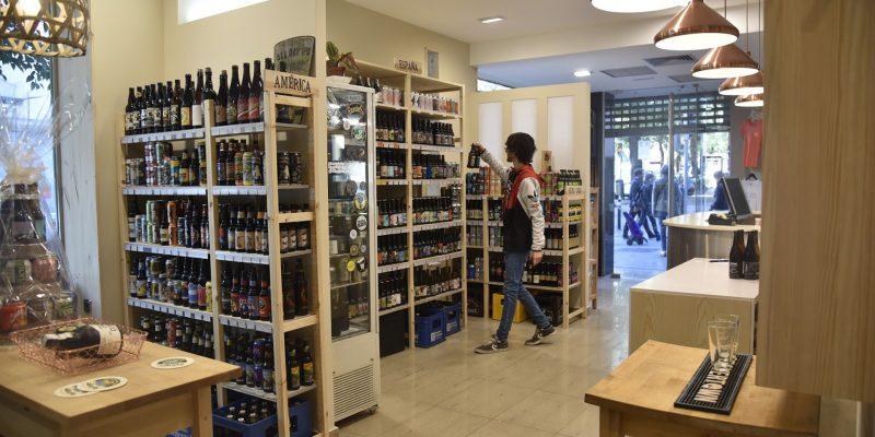 tiendas de cerveza en Madrid