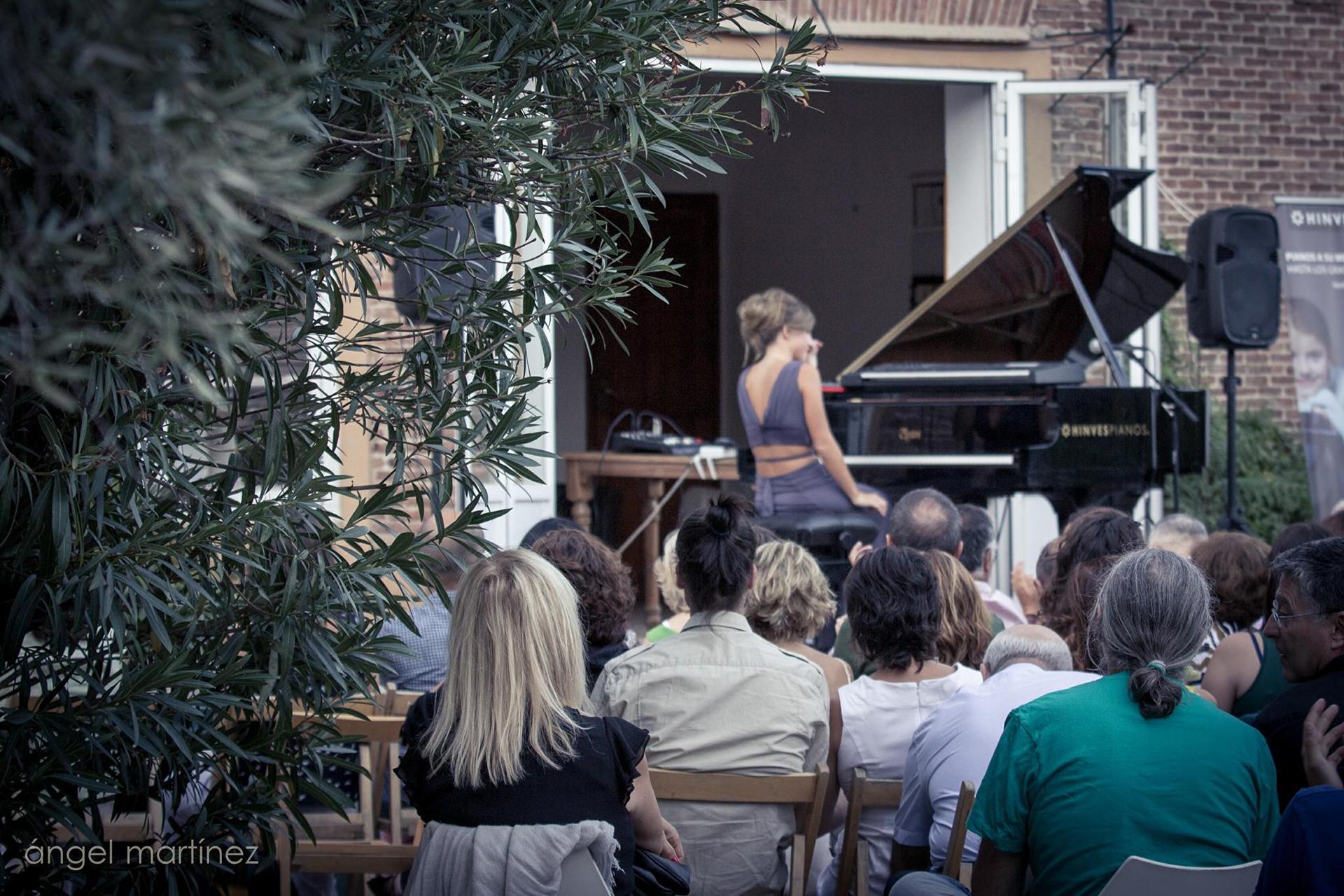 música en los jardines