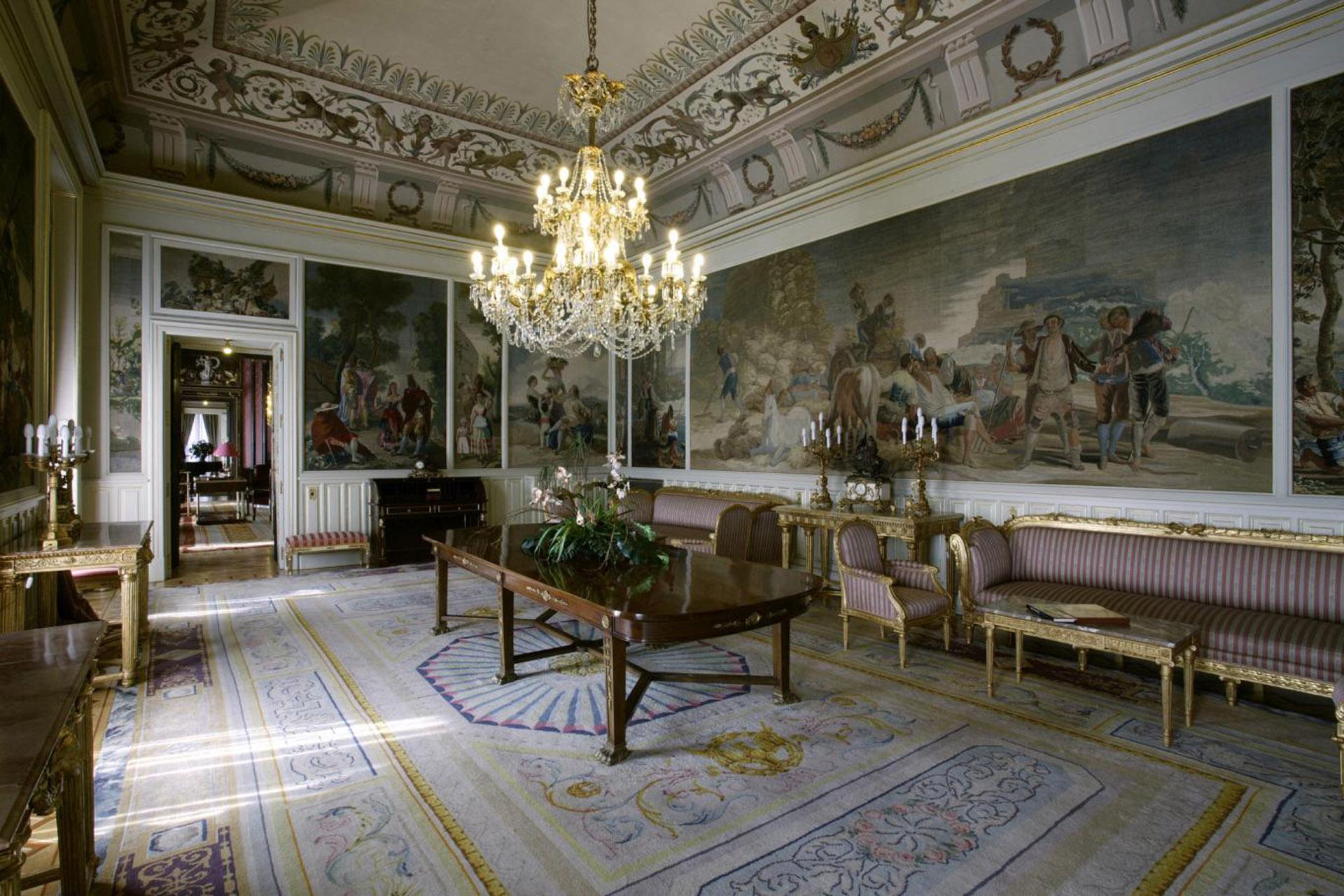 ¡Bienvenidos a palacio!