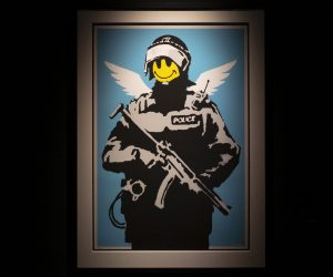 Banksy. The Street is a Canvas